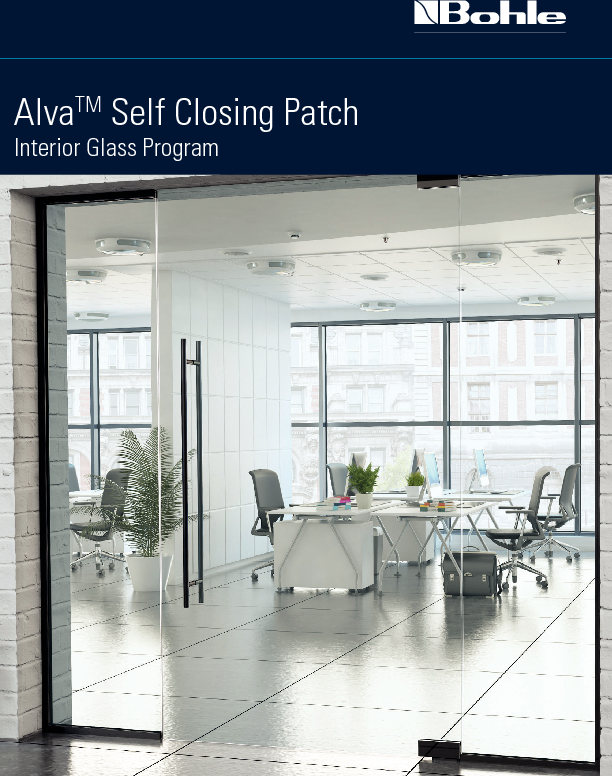 Bohle ALVA Self Closing Patch Door Hardware 2020.pdf