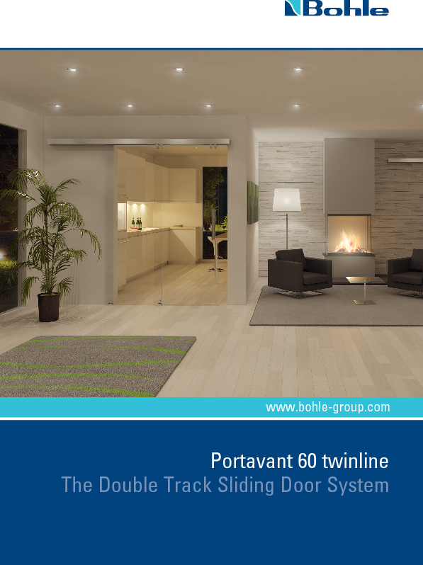 Portavant 60 Twinline - The Double Track Sliding Door System.pdf