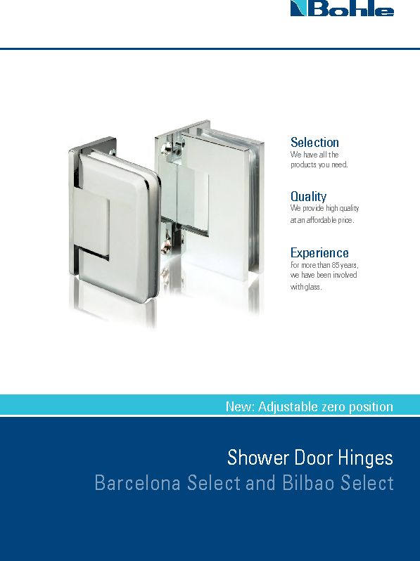 Bilbao Barcelona Select - Shower Door Hinges.pdf