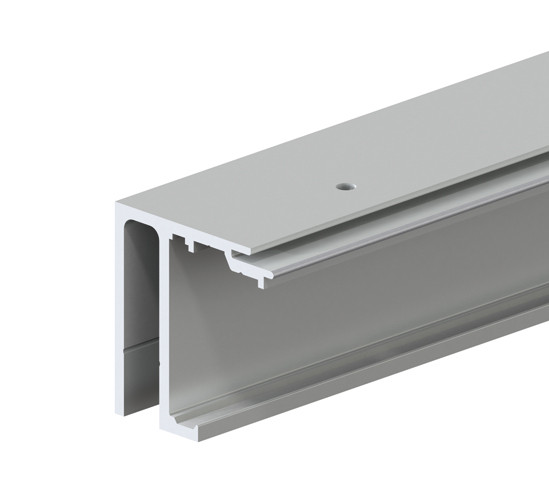 SlideTec optima 150 Top Track Ceiling Mounting with Fixed Sidelight