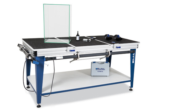 Verifix® Glass Bonding Table Deluxe for 45°/90° bonds
