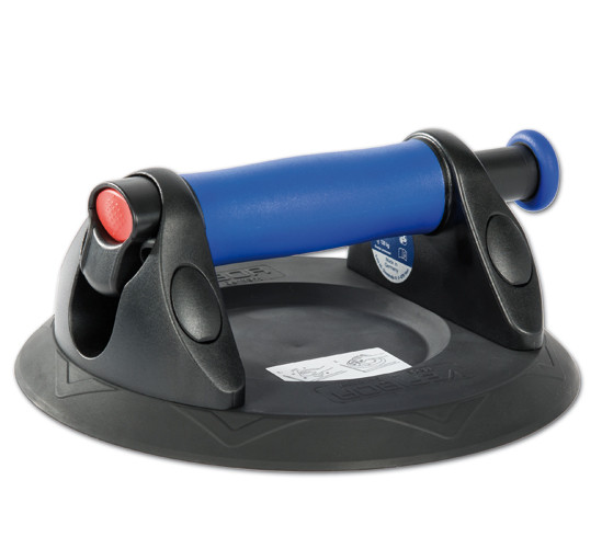 Veribor® blue line Plastic Suction Lifter with Priming Pump, in Case