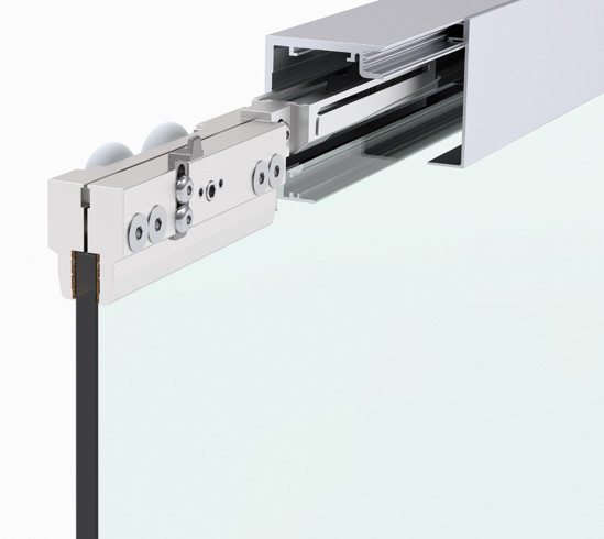 Bohle MasterTrack® FT 150 Set Ceiling Mounting incl. damping mechanism, single door