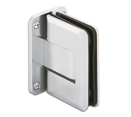 Swinging Door Hinge Bohle glass/wall 90° Both Sides Wall Mounted
