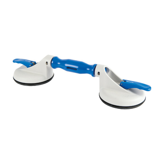 Veribor® 2-cup suction lifter with swivel heads made of plastic
