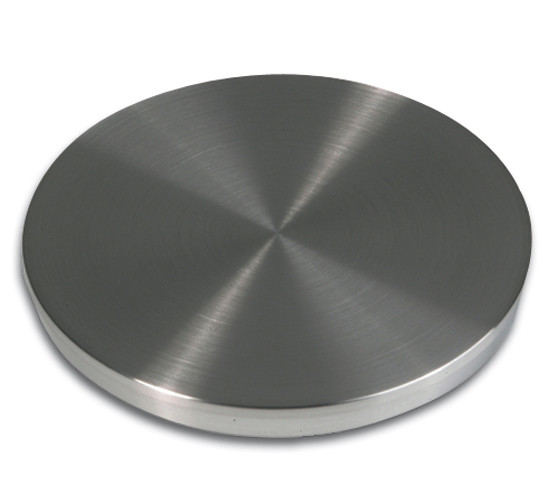 Adaptor Disc for Table Legs · Stainless Steel