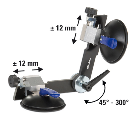 Verifix® Angle Suction Holder, infinitely adjustable