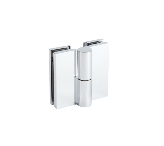 Shower Door Hinge Madrid with Rise and fall mechanism glass/glass 180° opens outwards