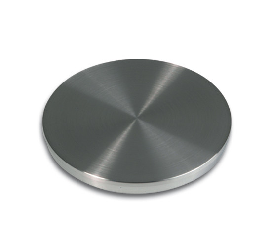 Adaptor disc for Table Legs ø 65 x 13/ 8 mm stainless steel